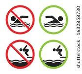 No Swimming And Swimming...