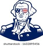 Washington Wearing Sunglasses...