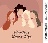 international womens day....   Shutterstock .eps vector #1632937030