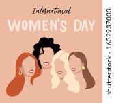 international womens day....   Shutterstock .eps vector #1632937033