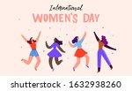 international women s day....   Shutterstock .eps vector #1632938260