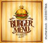 Burger Menu  Best Burgers In...
