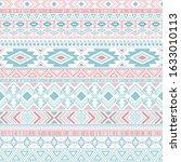 aztec american indian pattern... | Shutterstock .eps vector #1633010113