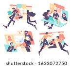 business concept illustration... | Shutterstock .eps vector #1633072750