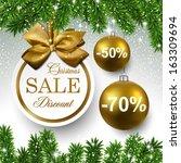 Sale Golden Round Labels....