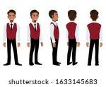 businessman cartoon character... | Shutterstock .eps vector #1633145683