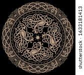 ancient celtic mythological...   Shutterstock .eps vector #1633181413