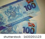 trinidad and tobago one hundred ... | Shutterstock . vector #1633201123