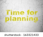 timeline concept  yellow time... | Shutterstock . vector #163321433