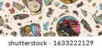 pop culture seamless pattern....   Shutterstock .eps vector #1633222129