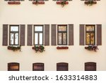 Vintage Facade Of Typical...