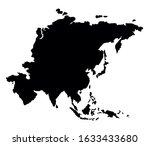 eurasian district  islands plan ... | Shutterstock .eps vector #1633433680