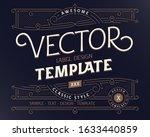 vector design template of... | Shutterstock .eps vector #1633440859