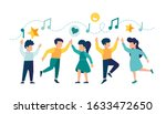 vector illustration  a group of ... | Shutterstock .eps vector #1633472650