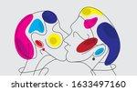 vector illustration sensual... | Shutterstock .eps vector #1633497160
