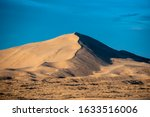 Very Tall Sand Dune Throws Long ...