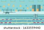heated indoor pool...   Shutterstock .eps vector #1633559440