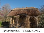 Thatched Roof Summer House In A ...