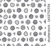coronavirus seamless pattern....   Shutterstock .eps vector #1633752556