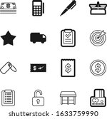 shop vector icon set such as ... | Shutterstock .eps vector #1633759990