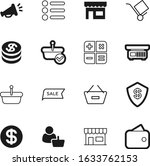 shop vector icon set such as  e ...