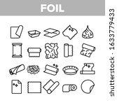 foil list for cooking... | Shutterstock .eps vector #1633779433
