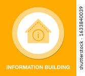 information building icon  ...   Shutterstock .eps vector #1633840039