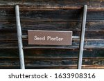 Antique Seed Planter. Old...