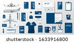 corporate branding identity... | Shutterstock .eps vector #1633916800