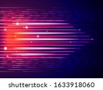 speed line background. abstract ... | Shutterstock .eps vector #1633918060