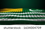 3d Rendered Waving Flag Of...