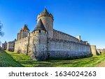 Carcassonne  France   January...