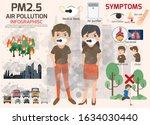 environmental pollution... | Shutterstock .eps vector #1634030440