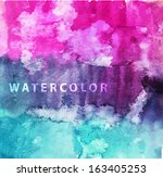 abstract watercolor background   Shutterstock .eps vector #163405253