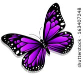 illustration of a purple...