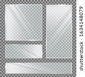glass plate on transparent... | Shutterstock . vector #1634148079