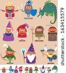 Medieval People  Set Of 10...