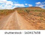 australian outback  flinders... | Shutterstock . vector #163417658