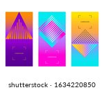 set of vector design templates... | Shutterstock .eps vector #1634220850