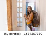 Smiling Young Woman With...
