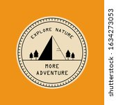 adventure logo vintage isolated ... | Shutterstock .eps vector #1634273053