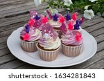 cupcakes for birthday party... | Shutterstock . vector #1634281843