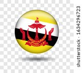 brunei darussalam flag icon... | Shutterstock .eps vector #1634296723