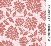 flower seamless | Shutterstock .eps vector #163430438