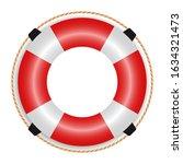 Ring Life Buoy Icon   Vector