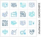 web design icon set and...