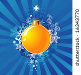 Christmas Decoration / Background Concept / vector / cmyk color - stock vector