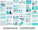 bundle infographic elements... | Shutterstock .eps vector #1634441683