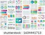 bundle infographic elements... | Shutterstock .eps vector #1634441713