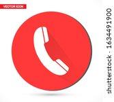 phone vector icon in trendy...
